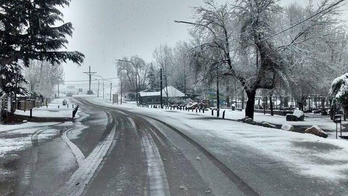 El frío polar traerá más nieve hoy en el Gran Mendoza