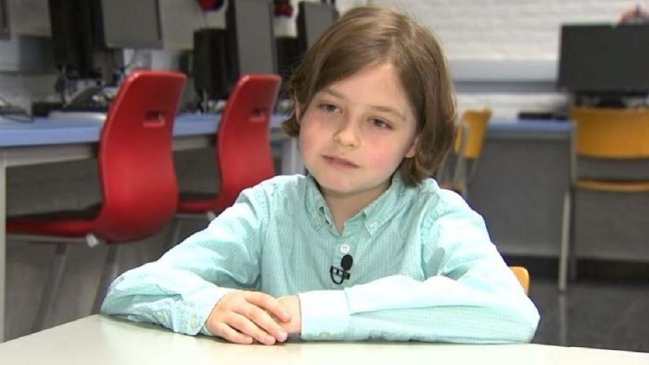 Niño de ocho años comenzará una carrera universitaria