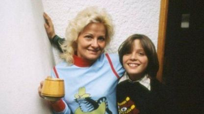 Luis Miguel y su mamá