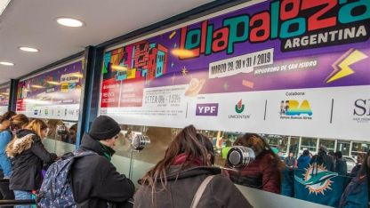 Venta de entradas Lollapalooza
