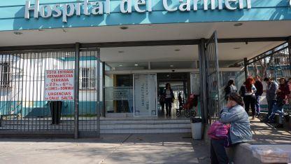 La mujer quedó internada en terapia intensiva del hospital del Carmen.