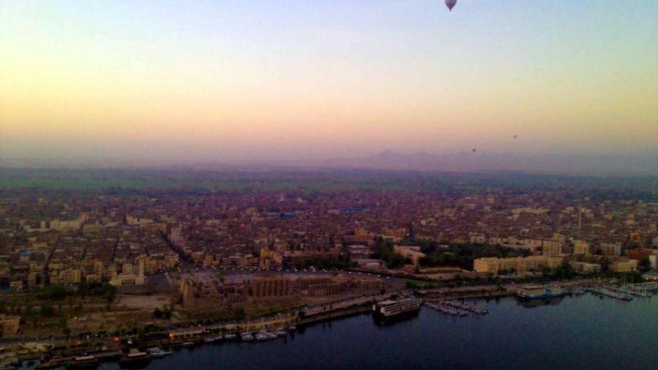 Mendocinos por el mundo: Egipto, volando en globo sobre tierra de faraones