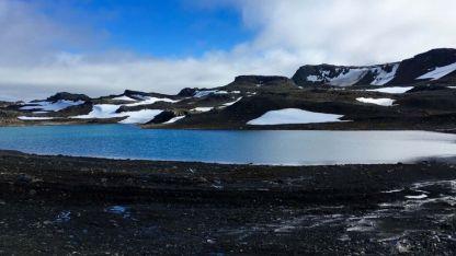 Las gruesas capas de hielo han desaparecido en algunos sectores antárticos.