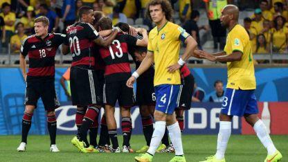 Alemania sacó de su Mundial a Brasil con una goleada histórica.