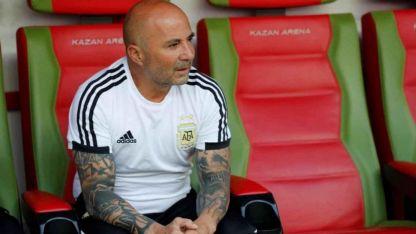 Sampaoli, por ahora, sigue como entrenador de la Selección Argentina.