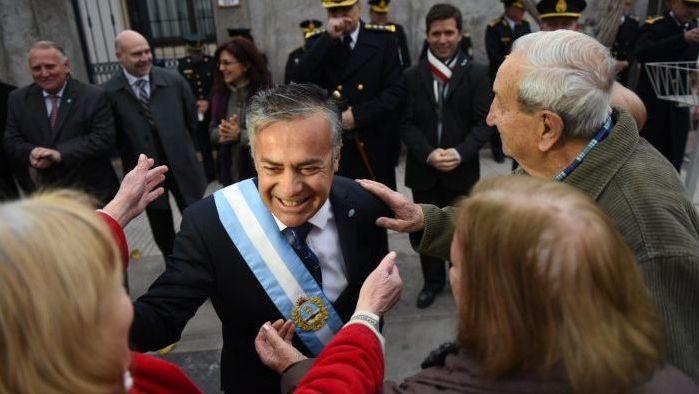 Cornejo respaldó la política económica de Macri y volvió a cargar contra Lilita Carrió