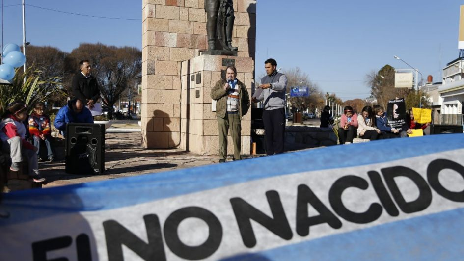 Médicos en Alvear hicieron un chaquetazo en contra del aborto