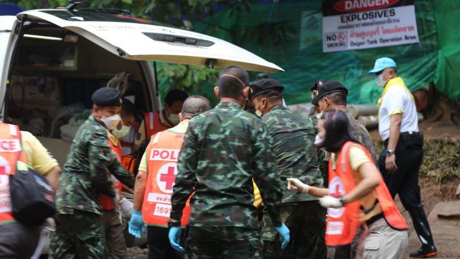Milagro en Tailandia: rescataron a todos los niños y a su entrenador