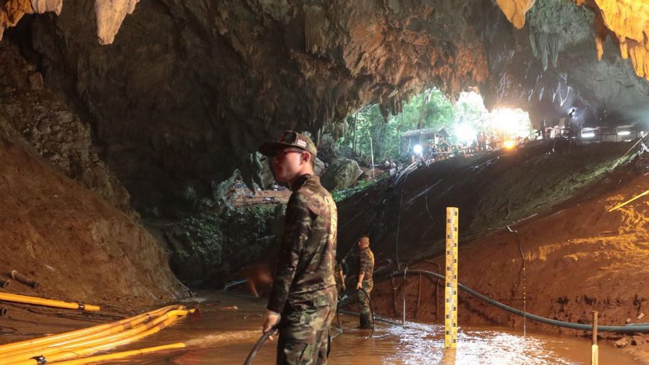 Día por día: así fue el calvario de los chicos en la cueva de Tailandia