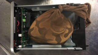 Insólito: encontraron una pitón en un equipaje en el aeropuerto de Miami