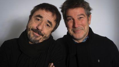 Pura química. Pablo Granados y Pachu Peña se conocen de su Rosario natal y conforman una de las duplas cómicas más reconocidas del país.
