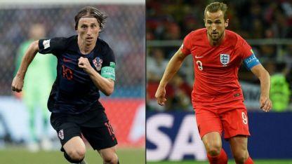 Modric y Kane, las dos figuras de sus selecciones.