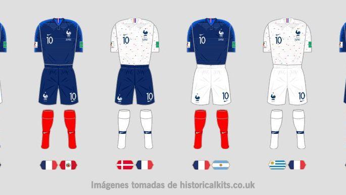 Los seis modelos de Francia y el éxito de Nike