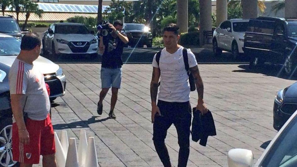 Enzo Pérez se sumó a la pretemporada de River en Orlando