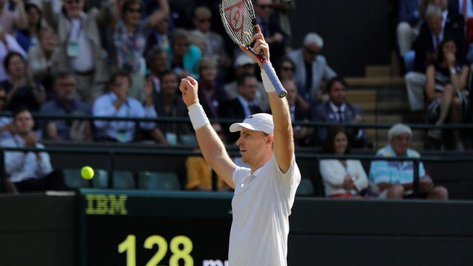 Kevin Anderson dio la gran sorpresa y eliminó a Federer en Wimbledon