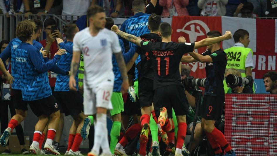 Batacazo Mundial: Croacia eliminó a Inglaterra y jugará la gran final ante Francia
