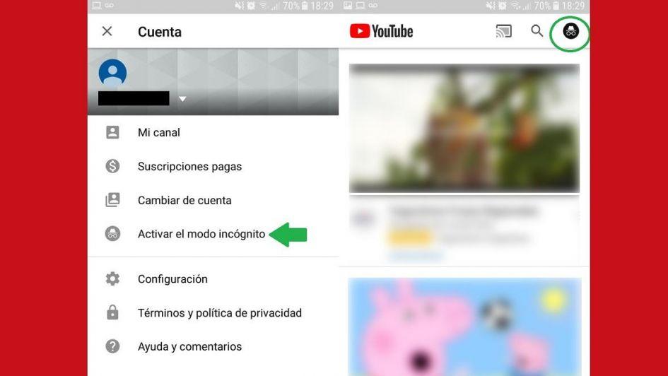 Paso a paso: cómo ver videos en YouTube sin dejar rastros