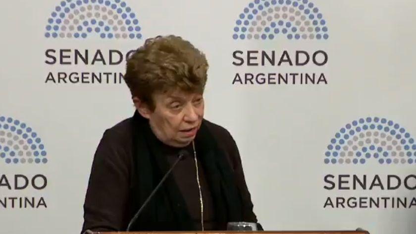 Con un contundente discurso, Aida Kemelmajer defendió la legalización del aborto