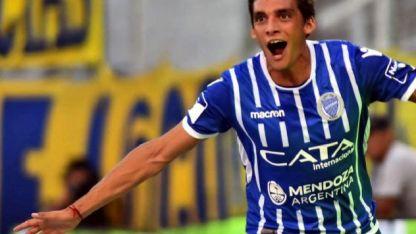 Juanfi festeja uno de los 5 tantos que convirtió en la Superliga 2017/18.