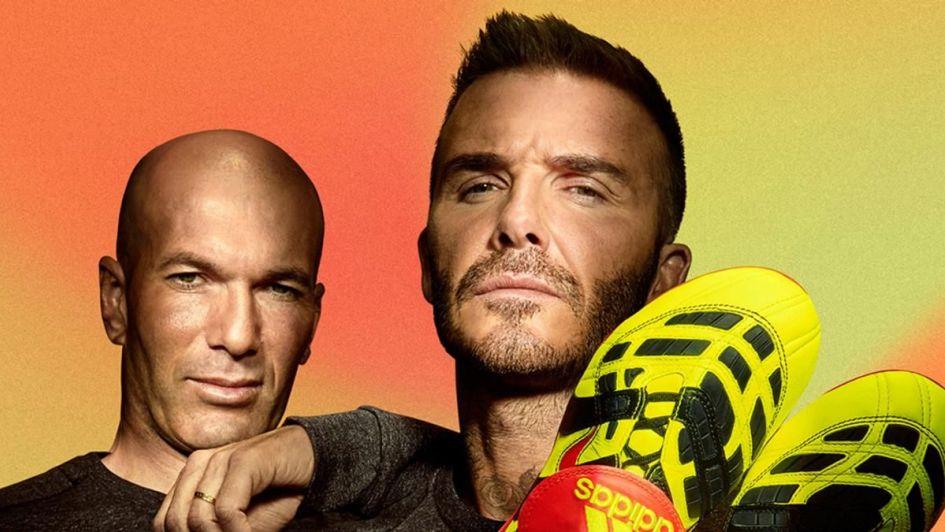 Zidane y Beckham en un emocionante comercial