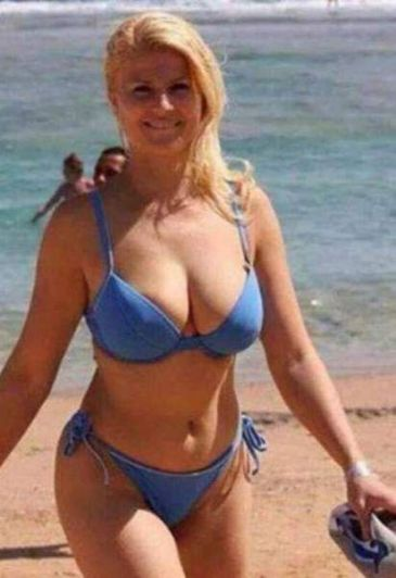 La verdad detrás de las fotos de la Presidenta de Croacia en bikini