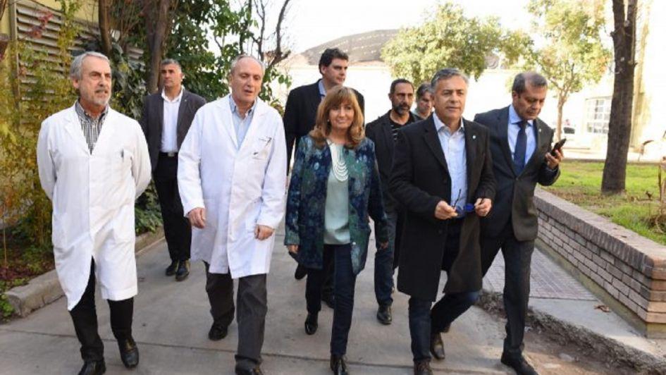 Inauguraron un nuevo servicio de internación para pacientes inmunodeprimidos en el Notti