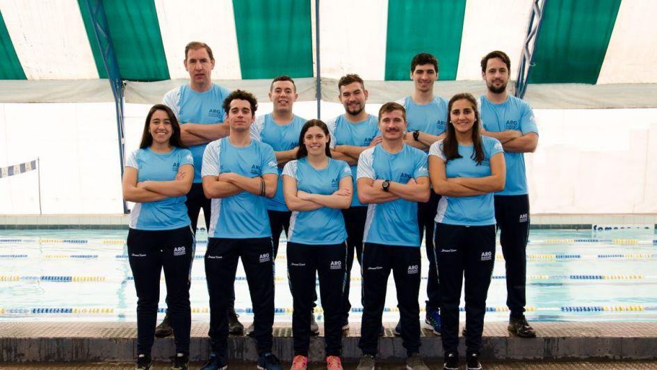 La Selección argentina de hóckey subacuático ya está lista para disputar su Mundial