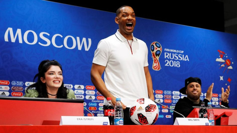 Will Smith adora el fútbol del crack Cristiano Ronaldo