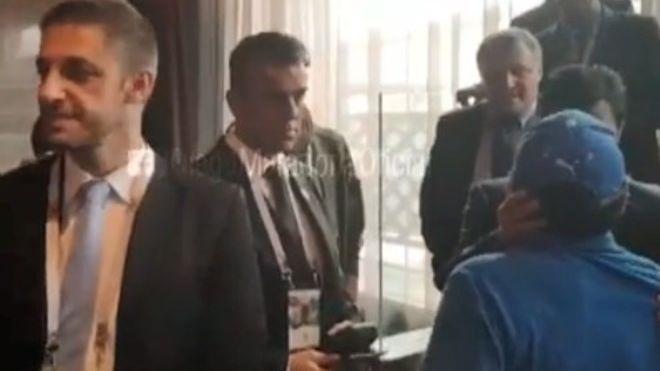 Somos Deporte: Así fue el reencuentro entre Maradona y Passarella