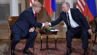 Tanto Trump como Putin se empeñaron en resaltar los puntos positivos.