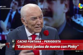 Cacho Fontana en Intratables