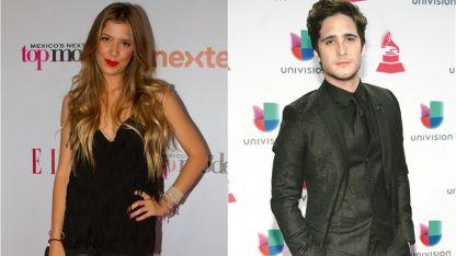 Michelle Salas y Diego Boneta