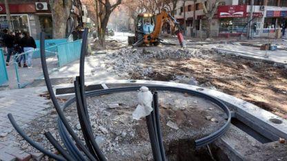 Por reparaciones, la semana pasada cortaron avenida España y Pedro Molina.