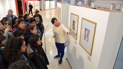 La exposición está abierta de 12 a 20. Visitas guiadas a las 15, 17 y 19.