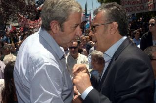 Cornejo fue ministro de Cobos. Después celebraron juntos el triunfo electoral de 2015. Hoy están distanciados.