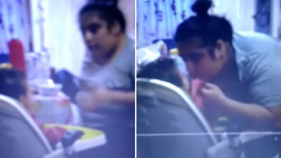 Grabó a su novia maltratando al bebé de ambos y la denunció por violencia