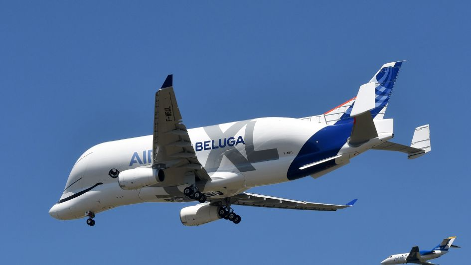 Super avion Beluga XL realiza primer vuelo