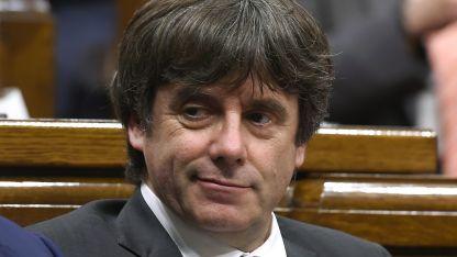 Ex presidente regional catalán Carles Puigdemont