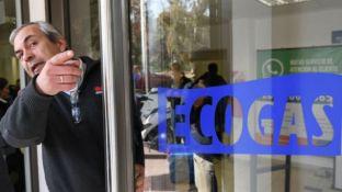 Las oficinas de Ecogas donde se realizan distintos trámites y reclamos.