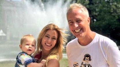 Nicole Neumann con Marley y Mirko