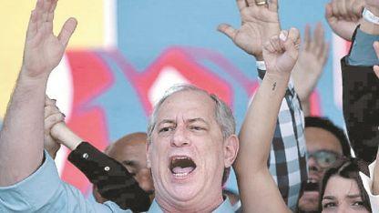 Ciro Gomes quiere captar votos de Lula.