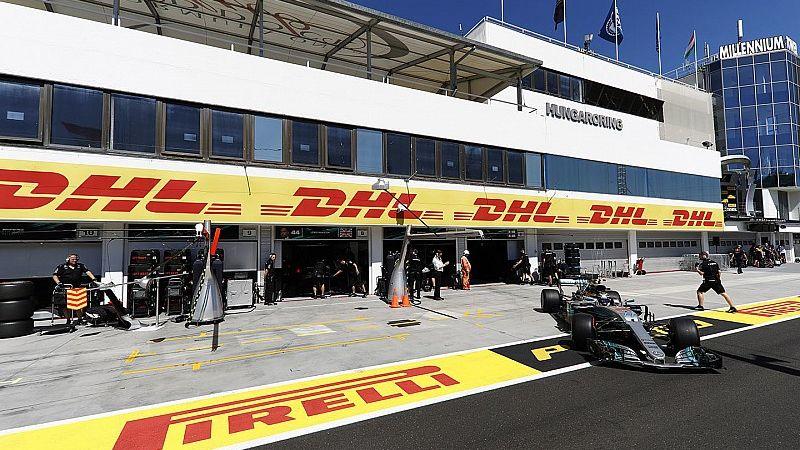 Vettel y Räikkönen no pueden con un Hamilton intratable en Hungría