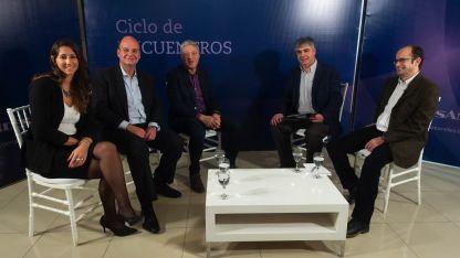 Elena Alonso, Guillermo Cruz, Alberto Carleti, Raúl Pedone y Gastón Bustelo.