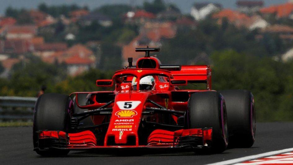 Sebastian Vettel, el más rápido en Hungría; Hamilton quinto