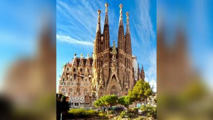 Sagrada Familia. El templo neogótico, la máxima creación de Gaudí.