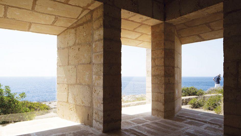 Una sublime residencia para arquitectos y artistas