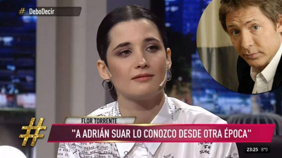 Flor Torrente sorprendió a Toto Suar de la mejor manera