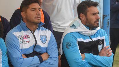 Pozo, junto con Alejandro Abaurre, cuando era ayudante de campo en Gutiérrez.