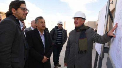 Contra la corrupción K. Garavano y Cornejo inauguraron parte de la nueva cárcel federal.