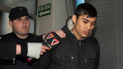 Ezequiel Ledesma ayer dio su testimonio de inocencia ante el fiscal Carlos Torres.